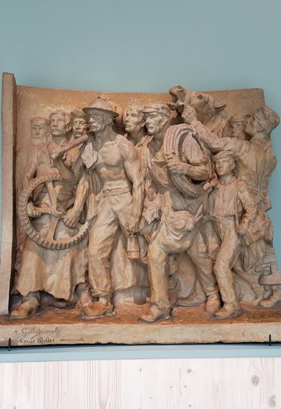 Les Sculpteurs du travail : Meunier, Dalou, Rodin..