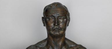 Camille Claudel, Buste de Paul Claudel à 37 ans, 1905